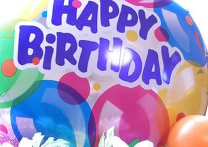 今日は私の誕生日でございます