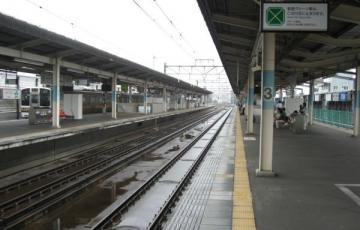 前橋駅ホーム