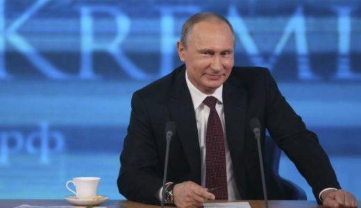 サンデージャポンでプーチン大統領のデマが流れてたんだけど